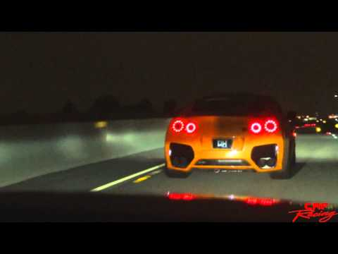 Chilling Down In Mexico Triple Drag Race On Open Highway
