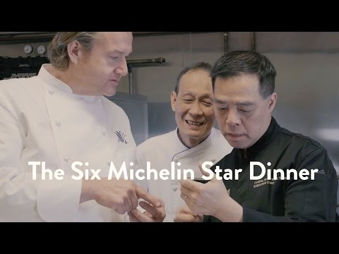 The Six Michelin Star Dinner | Food & Wine