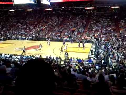 Detroit Pistons at Miami Heat | April 9, 2010 | American Airlines Arena | Miami Florida