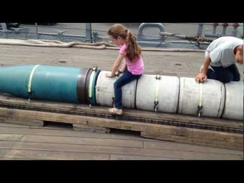 USS Iowa BB-61 Battleship - Self Tour