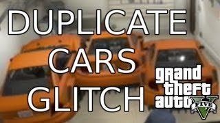 GTA 5 Car Glitch - How to Duplicate Any Car in GTA5 - Secret and Tips ( Grand Theft Auto 5 Glitches)