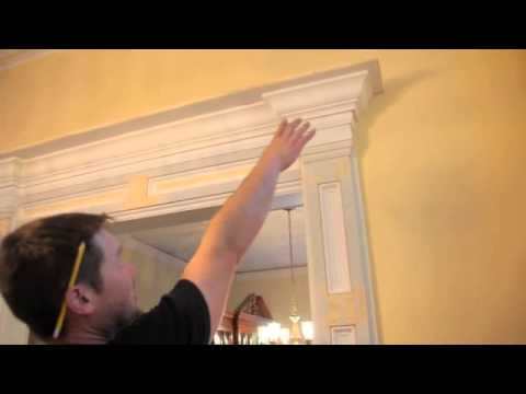 Entryway Custom Home Makeover Youtube