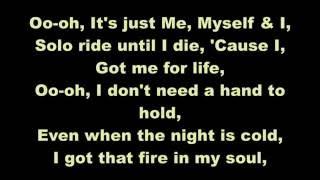 G-Eazy ft. Bebe Rexha - Me, Myself & I (Clean w/ Lyrics)