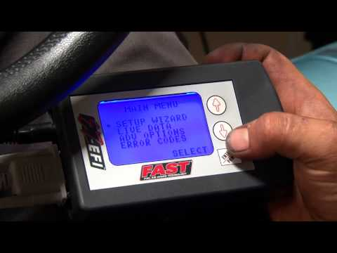 FAST EZ-EFI Dual Quad Installation On Classic Car