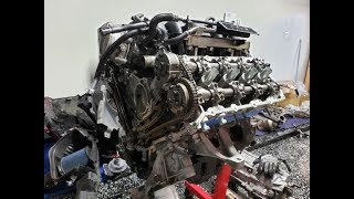Shelby GT350 Voodoo Engine Tear Down Investigation