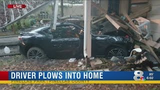 Dink Driver intentionally plows into St. Pete home