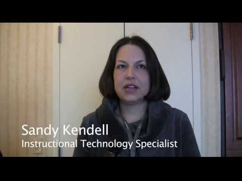 Sandy Kendell – Instructional Technology Specialist