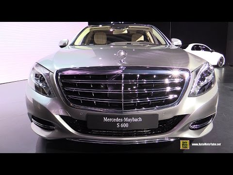2016 Mercedes-Benz Maybach S-Class S600 - Exterior. Interior Walkaround - Debut at 2014 LA Auto Show