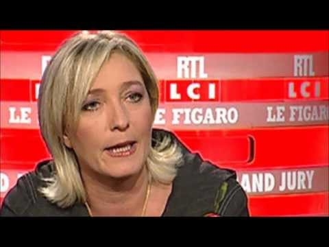 Marine le Pen Raciste ? jugez-en par vous même ! Video youtube.