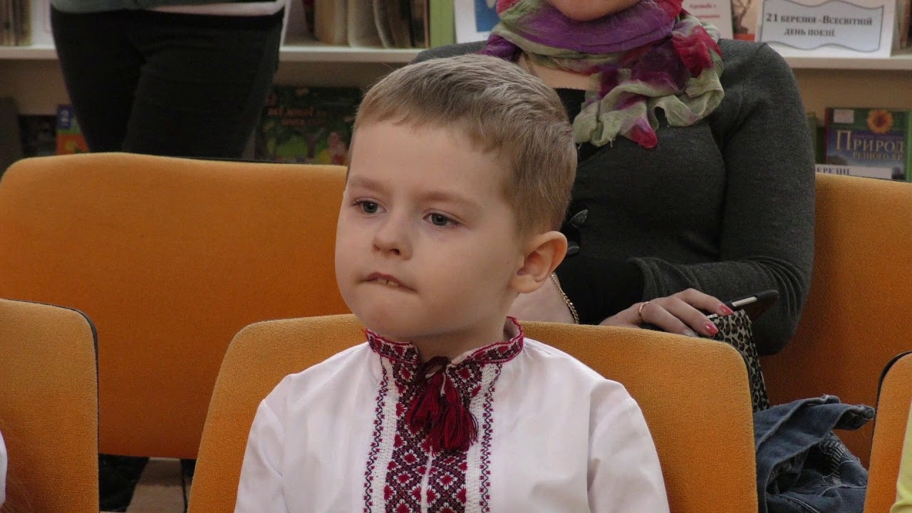 «Тарас Шевченко у моїм серденьку». У Калуші відбувся читацький марафон для малюків