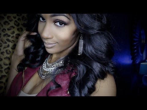 How To DYE Your WEAVE: The Easy Way (Lace Closure) & Bronner Bros. Hair Show clips