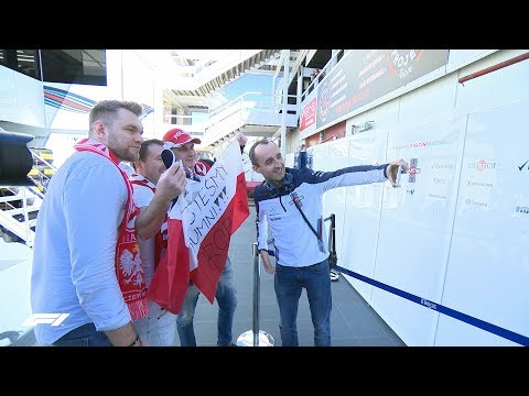 Dreams Come True: Polish Fans Meet Their Hero Robert Kubica