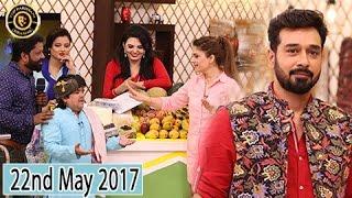 Salam Zindagi - 22nd May 2017 - Guest:  Isha Noor & Mizna Waqas - Top Pakistani Show