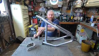 Royal Enfield Hard Tail Frame