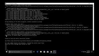 Tensorflow ImportError: No module named '_pywrap_tensorflow_internal'