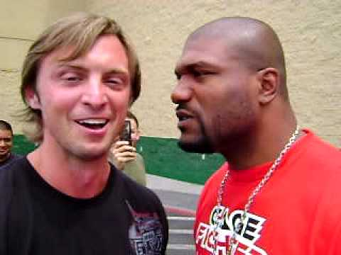 Rampage Jackson The Stare