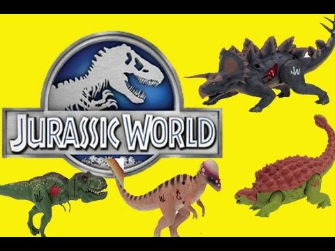 Jurassic World Dinosaurs Toy Review Hasbro Bag of Dinos Blind Bag 15 Dinosaurs Funny PRANK