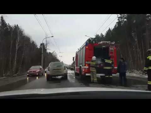 ДТП у остановки Лепешковая. 07.03.17