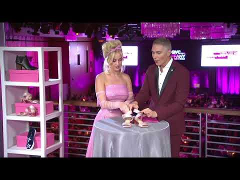 Katy Perry Glitter Block Heel Sandal - Margot on QVC thumbnail