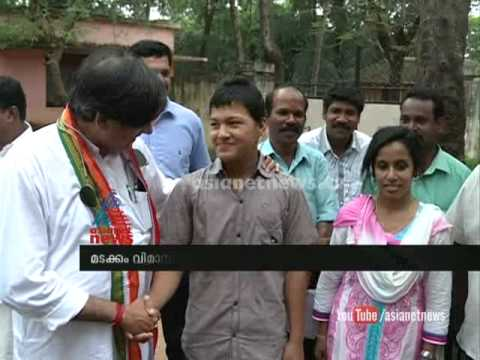 Rojan Back To Home With The Help Of Shashi Tharoor Mp : Chuttuvattom News video