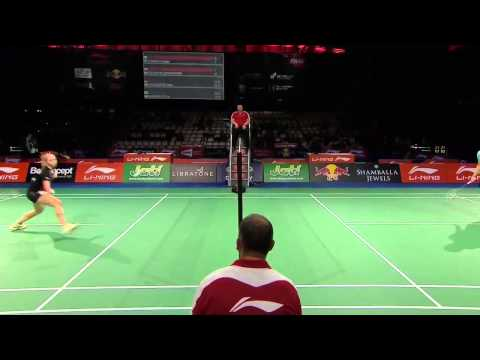 Day 2 - 2014 BWF World Championships -  Saina Nehwal vs Natalia Perminova