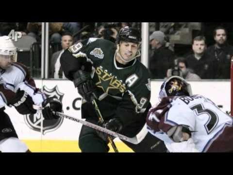 Mike Modano Retires After 21 Seasons In NHL (video)