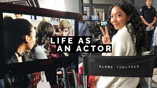 A WEEK IN THE LIFE OF AN ACTOR 🎬