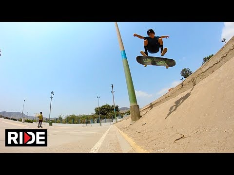 "He's Back - 9 Year Old Skater Gonzo ""Gonzalito"" Morales Still Ripping in Peru"