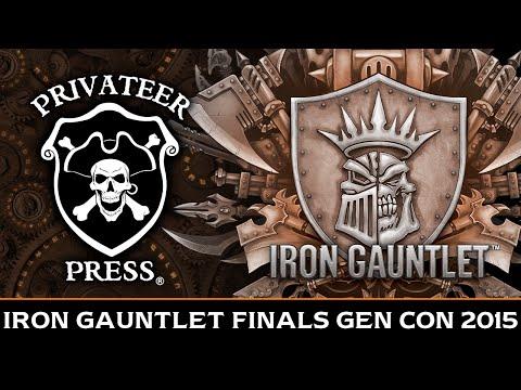 Iron Gauntlet Finals - Gen Con 2015