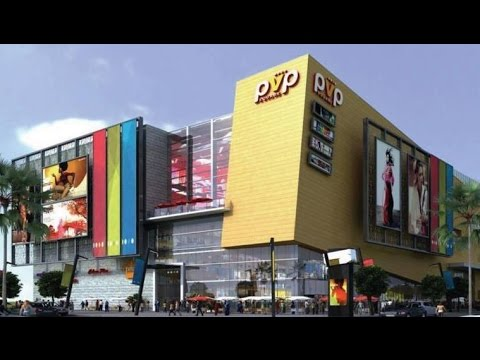 PVP Square Mall - Vijayawada - Inside View, Mall Facilities, CinePolis Multiplex Theaters