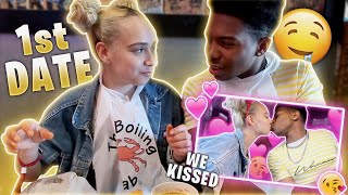 OUR FIRST DATE! *she kissed me*
