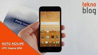 HTC Desire 830 Kutu Açılımı