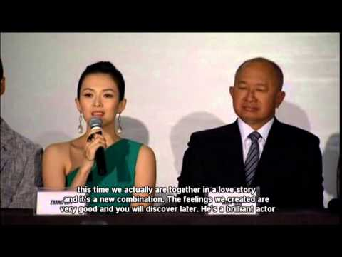 John Woo Hosts A News Conference For