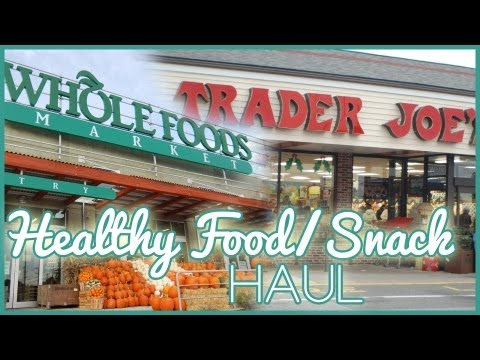 Healthy Junkfood/Snack Haul! :)