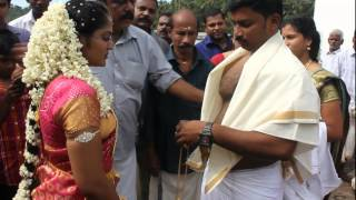 Ranjith weds Reshma on 26th October 2014