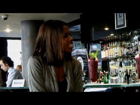 Television Presenter June Sarpong in The May Fair Bar Video