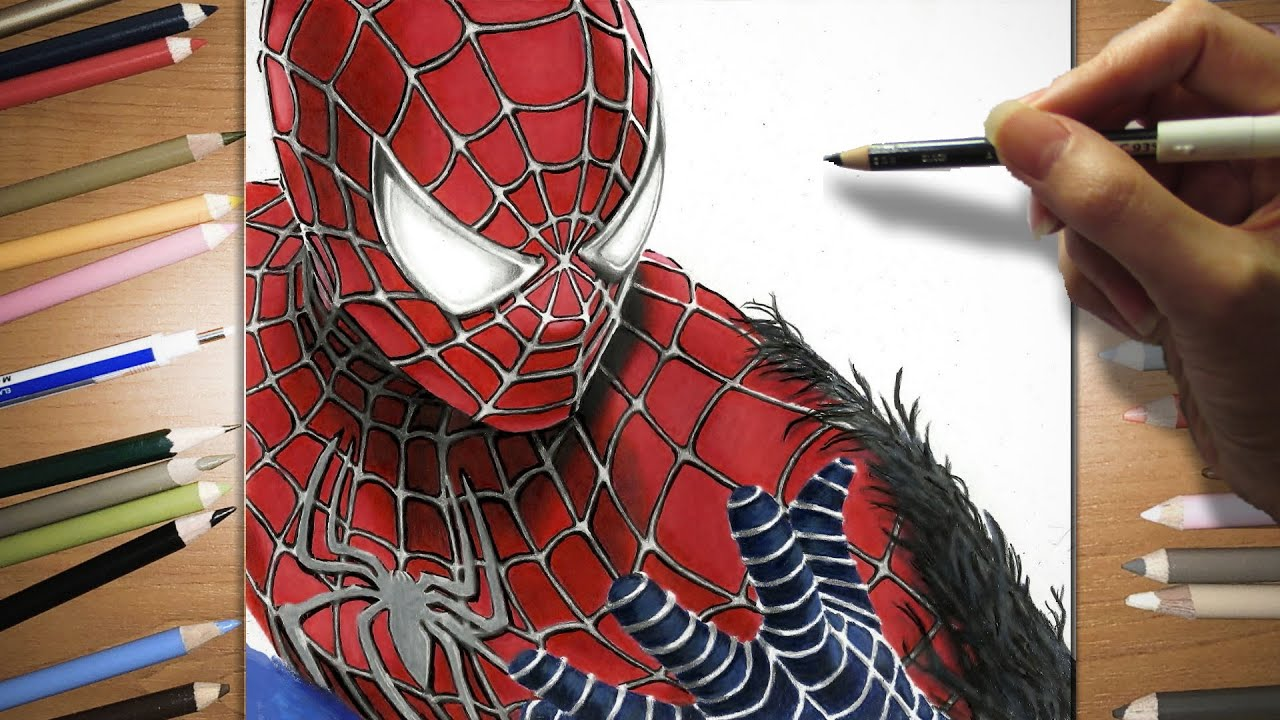 Spiderman 3 Drawings Speed Drawing of Spider-man 3