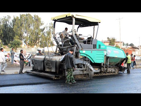 Road Construction In Addis Ababa