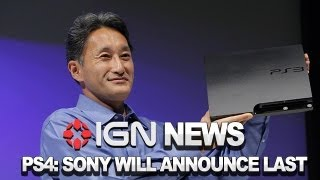 IGN News - Sony To Let Microsoft Announce Next-Gen First