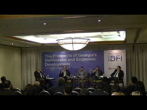 Part VI - International Forum: The Prospects of Georgia's Democratic and Economic Development