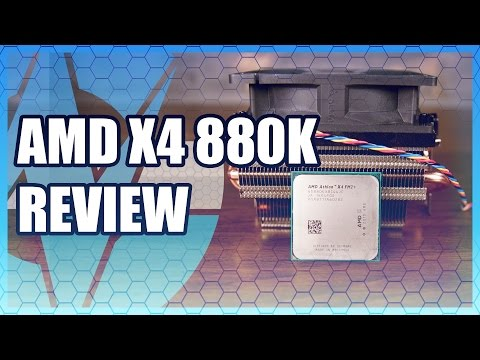 AMD Athlon X4 880K Review & Benchmark vs. i3, APUs