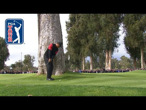Tiger Woods' greatest escapes on the PGA TOUR