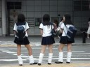 Japanese School Girl Sailor Suits