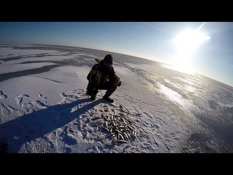 рыбалка на финском заливе с берега на дамбе