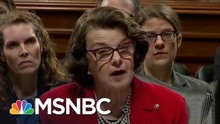 Senator Dianne Feinstein: We Need