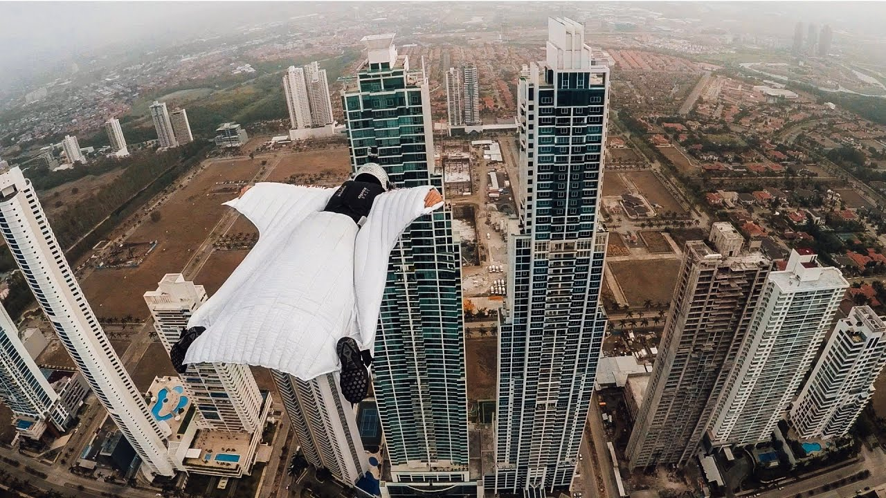 Take A Wingsuit Flight Through Panama City