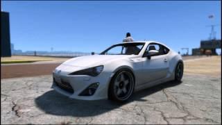 GTA5 MOD / Toyota GT-86 (Rockstar Editor)