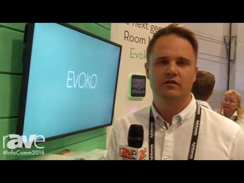 InfoComm 2016: Evoko Launches Evoko Liso Room Manager