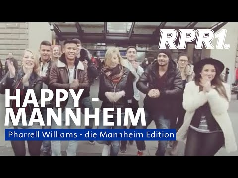 Pharrell Williams - Happy MANNHEIM EDITION  #happyday