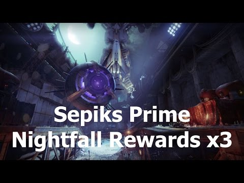 Destiny - My Weekly Nightfall Rewards x3 (Devil's Lair Strike)